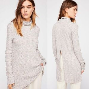 nwt // free people stonecold long sleeve tunic top